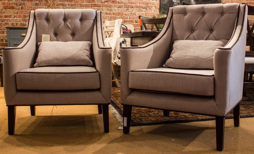 New Tufted Occasional Chairs