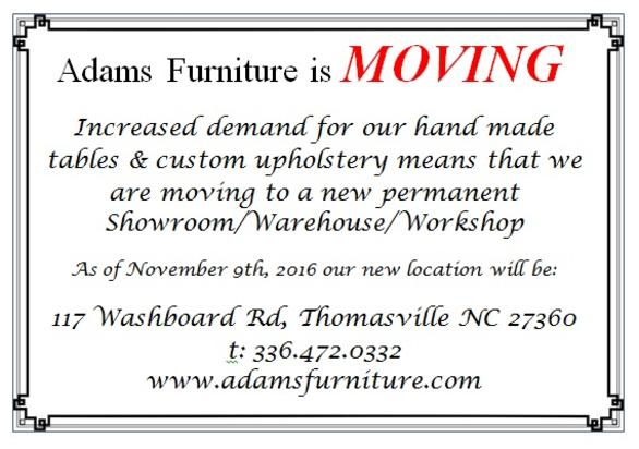 WE HAVE MOVED LOCATIONS!
